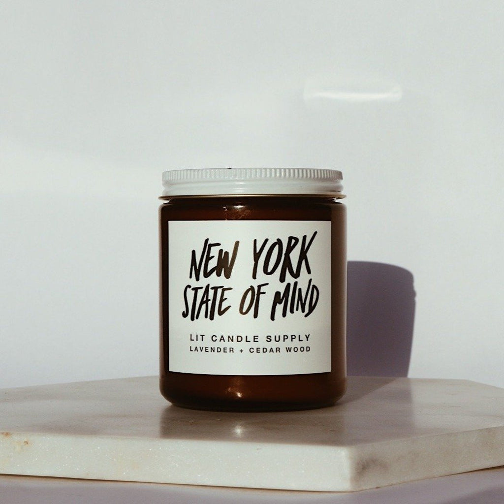 New York State of Mind - Lit Candle Supply