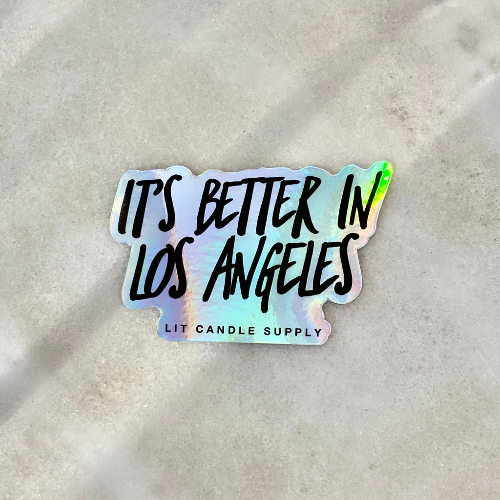 It's Better in Los Angeles - Sticker