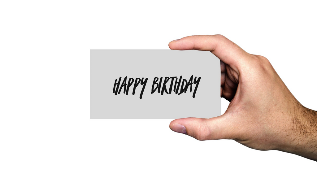 Lit Candle Supply Happy Birthday Gift Card