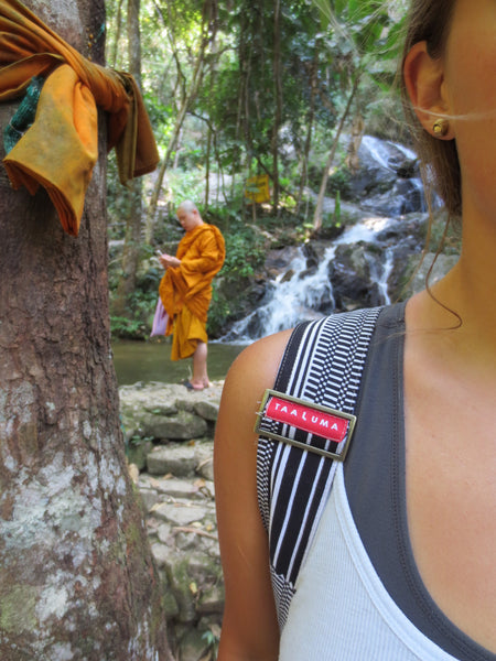 Waterfall Monk