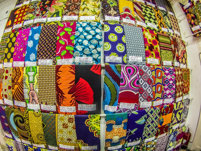 Mozambique Fabric Shop