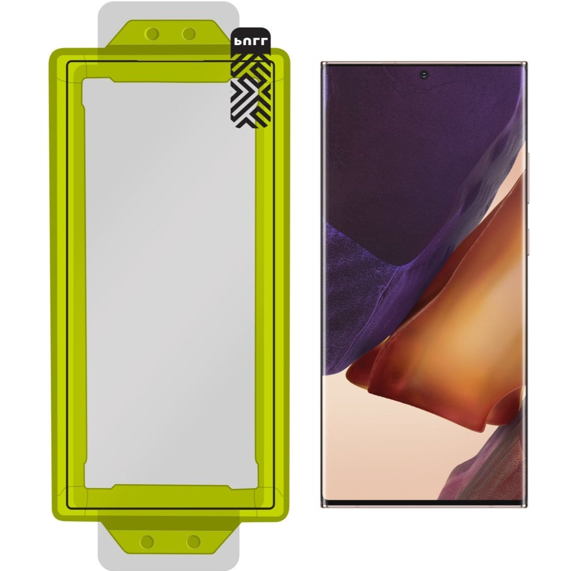 Fortress CONTOUR Screen Protector for Samsung Galaxy NOTE 20 - $ 200 Protection