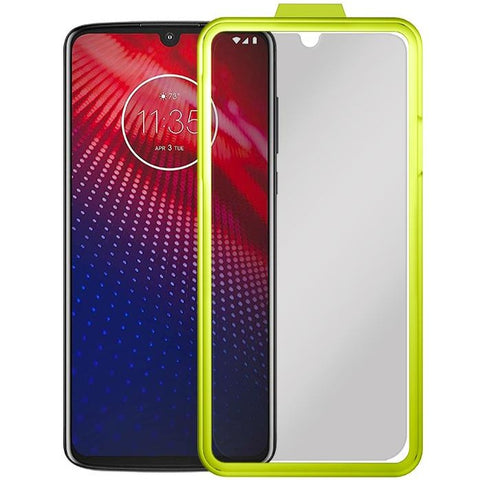 Fortress Tempered Glass Screen Protector for Motorola Moto Z4 - $200 Protection