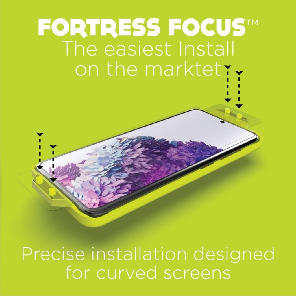 Fortress Contour Screen Protector for Samsung Galaxy S21 Ultra - $ 200 Protection