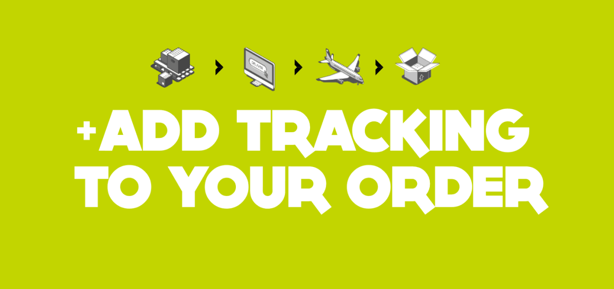 Upgrade shipping to include tracking number