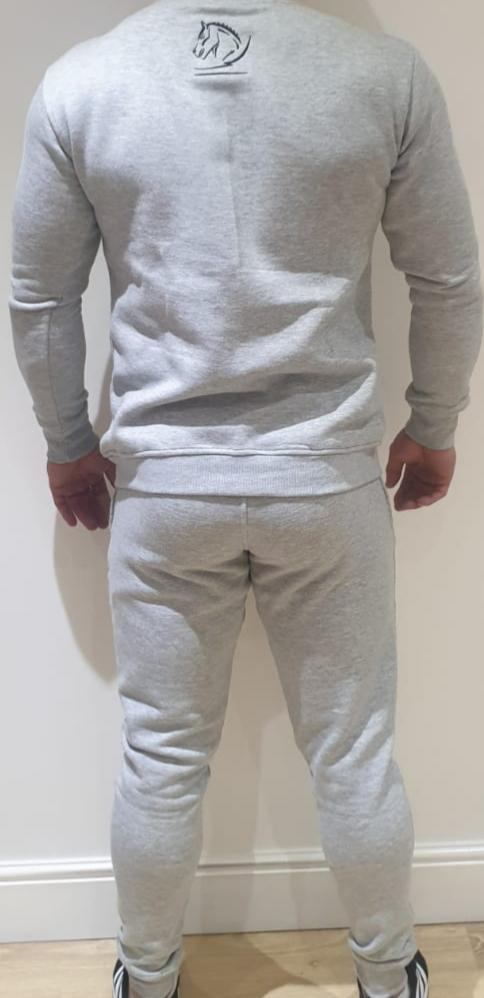 Heather Grey tracksuit