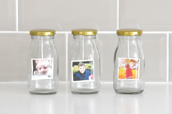 Personalised Milk Bottle