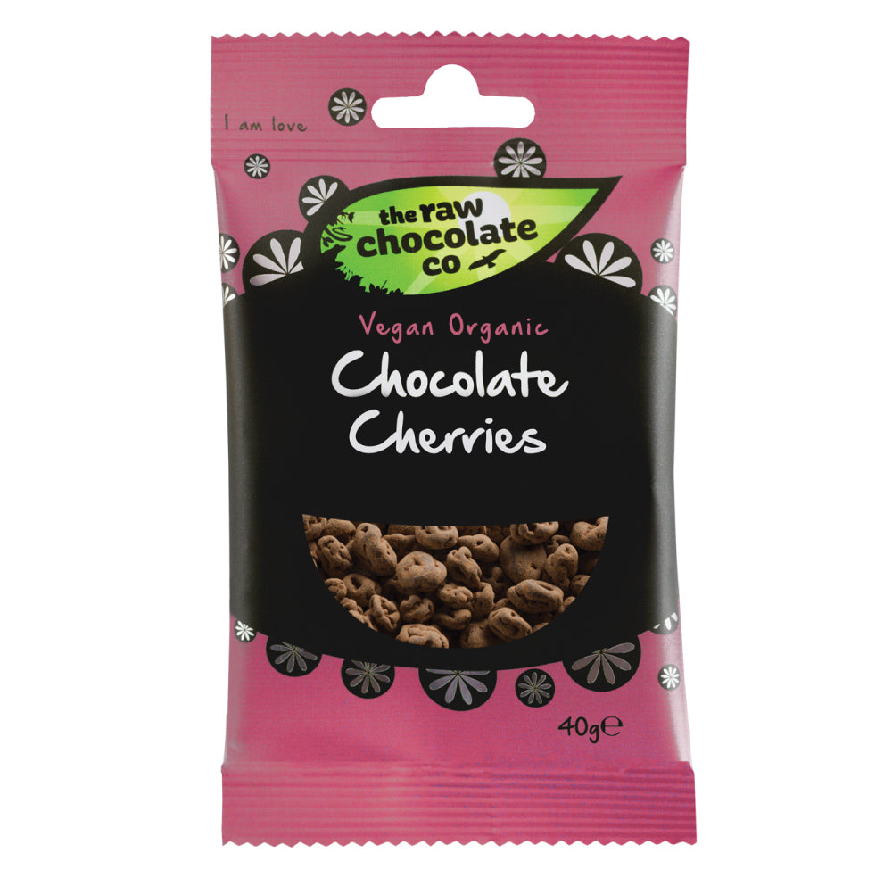 Chocolate Cherries - The Raw Chocolate Company