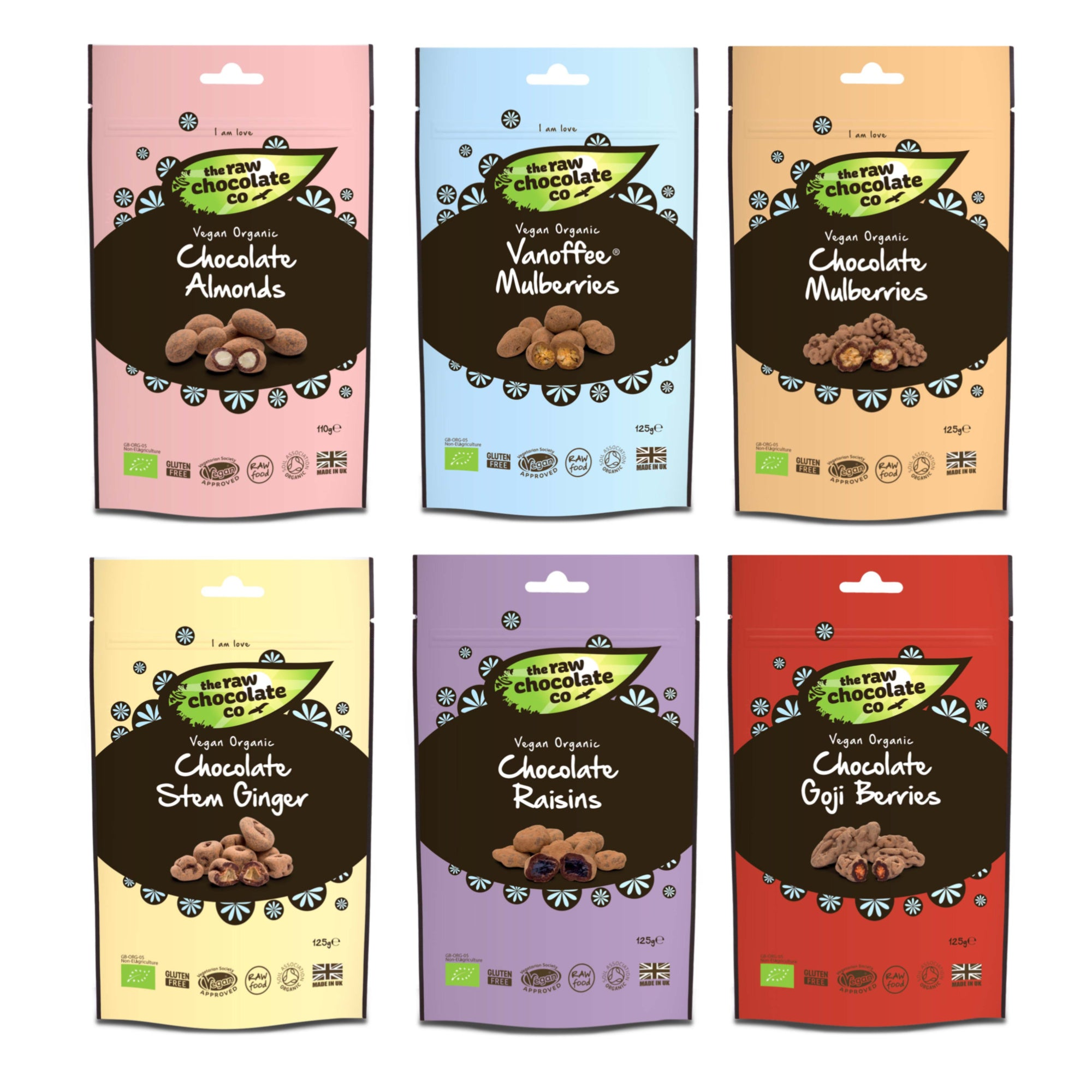 Mixed Chocolate Snack Pouch Bundle (15% off RRP) - The Raw Chocolate Company