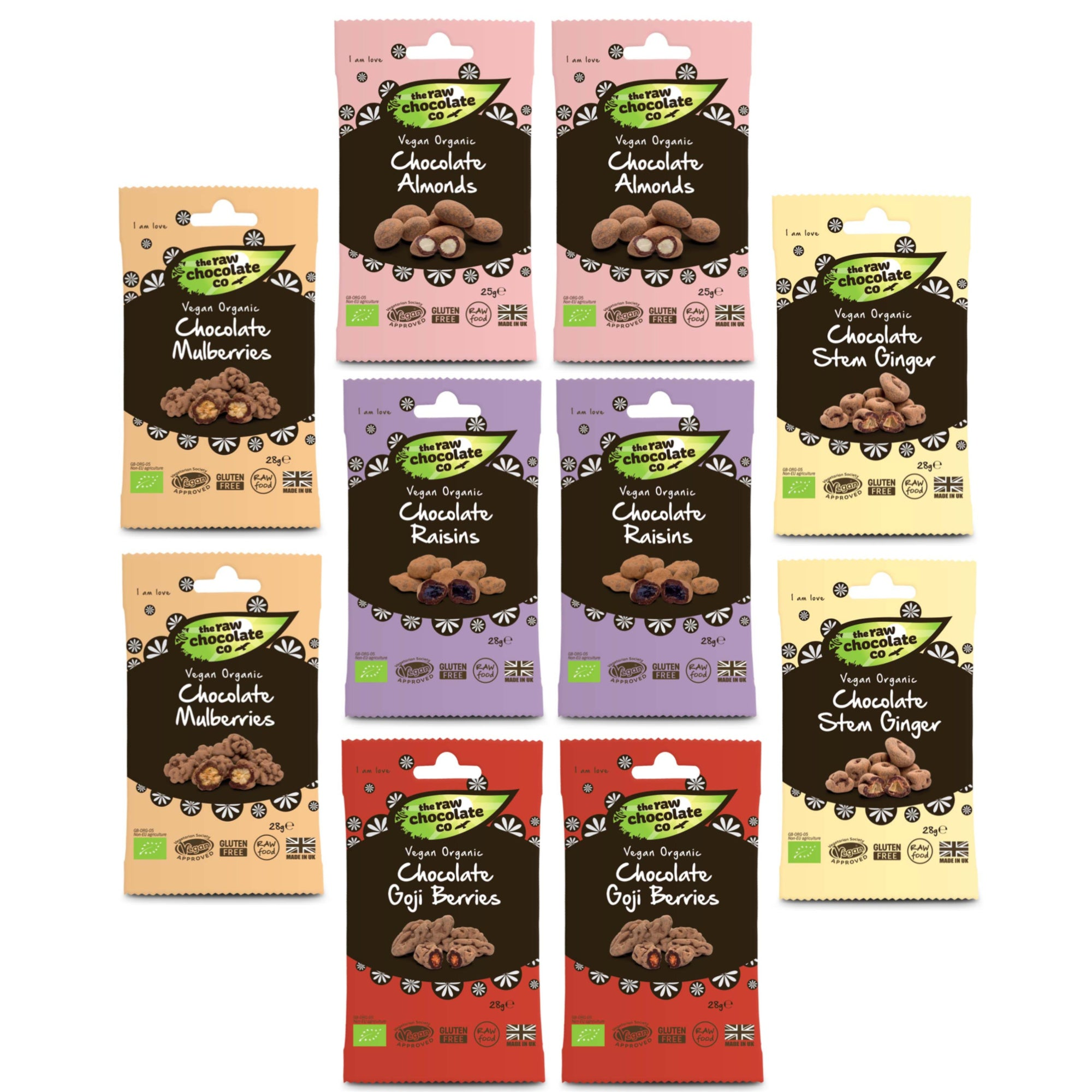Mixed Snack Pack Bundle (15% off RRP) - The Raw Chocolate Company