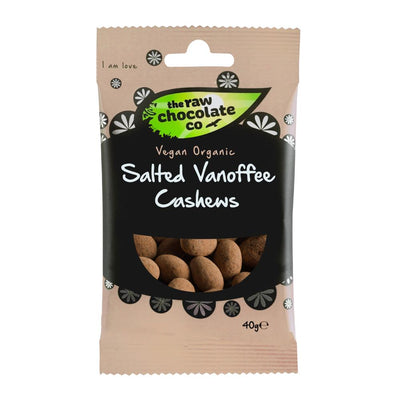 Salted Vanoffee Cashews - The Raw Chocolate Company
