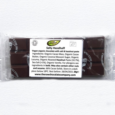 Salty Hazelhoff (NEW Limited Edition) - The Raw Chocolate Company
