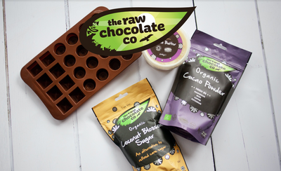 Chocolate Making Kit with Silicon Mould (Gift Hamper optional) - The Raw Chocolate Company