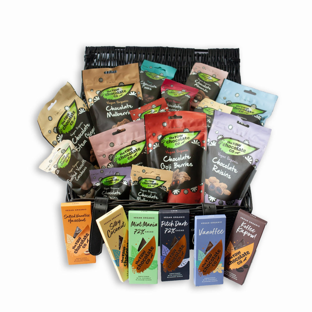 Deluxe Gift Hamper - The Raw Chocolate Company