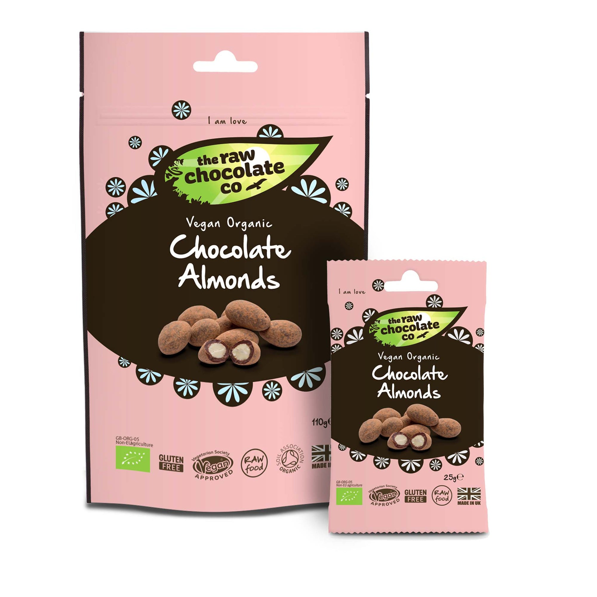 Raw Chocolate Almonds