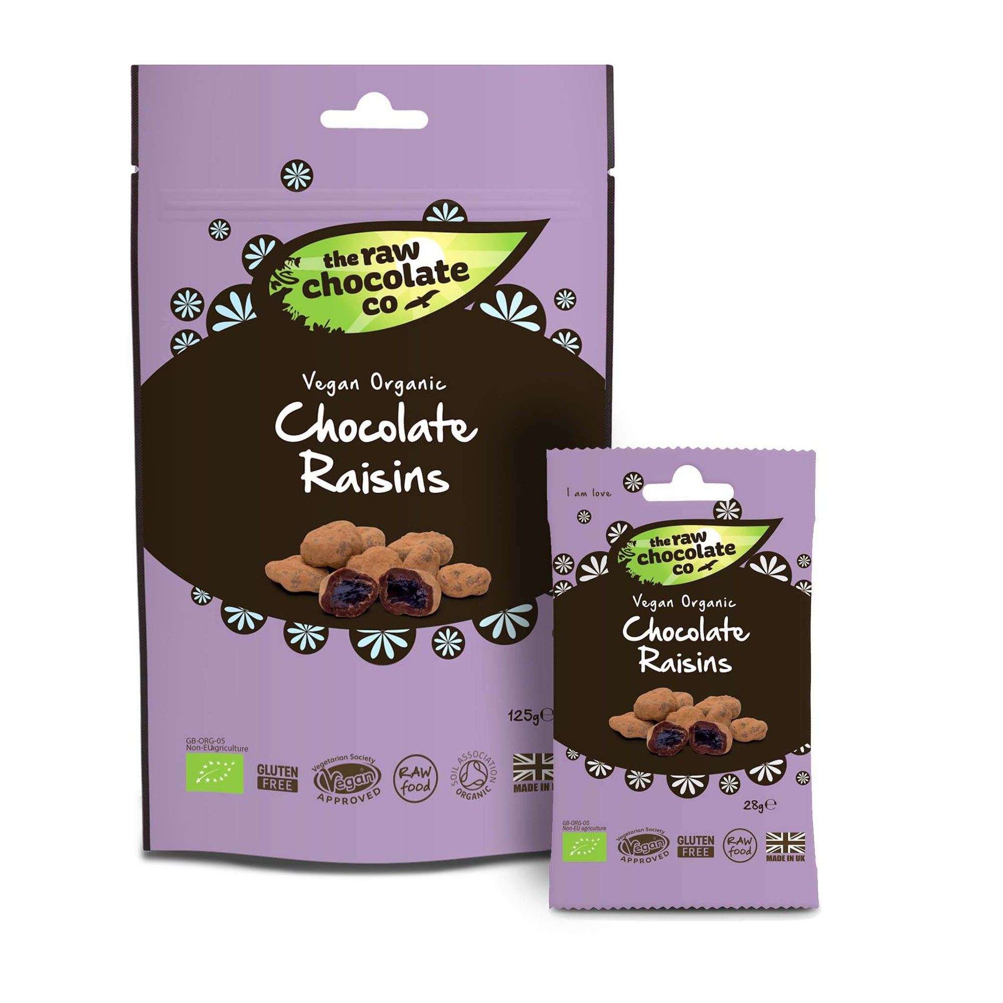 Raw Chocolate Raisins (50% off with code RAISIN50)