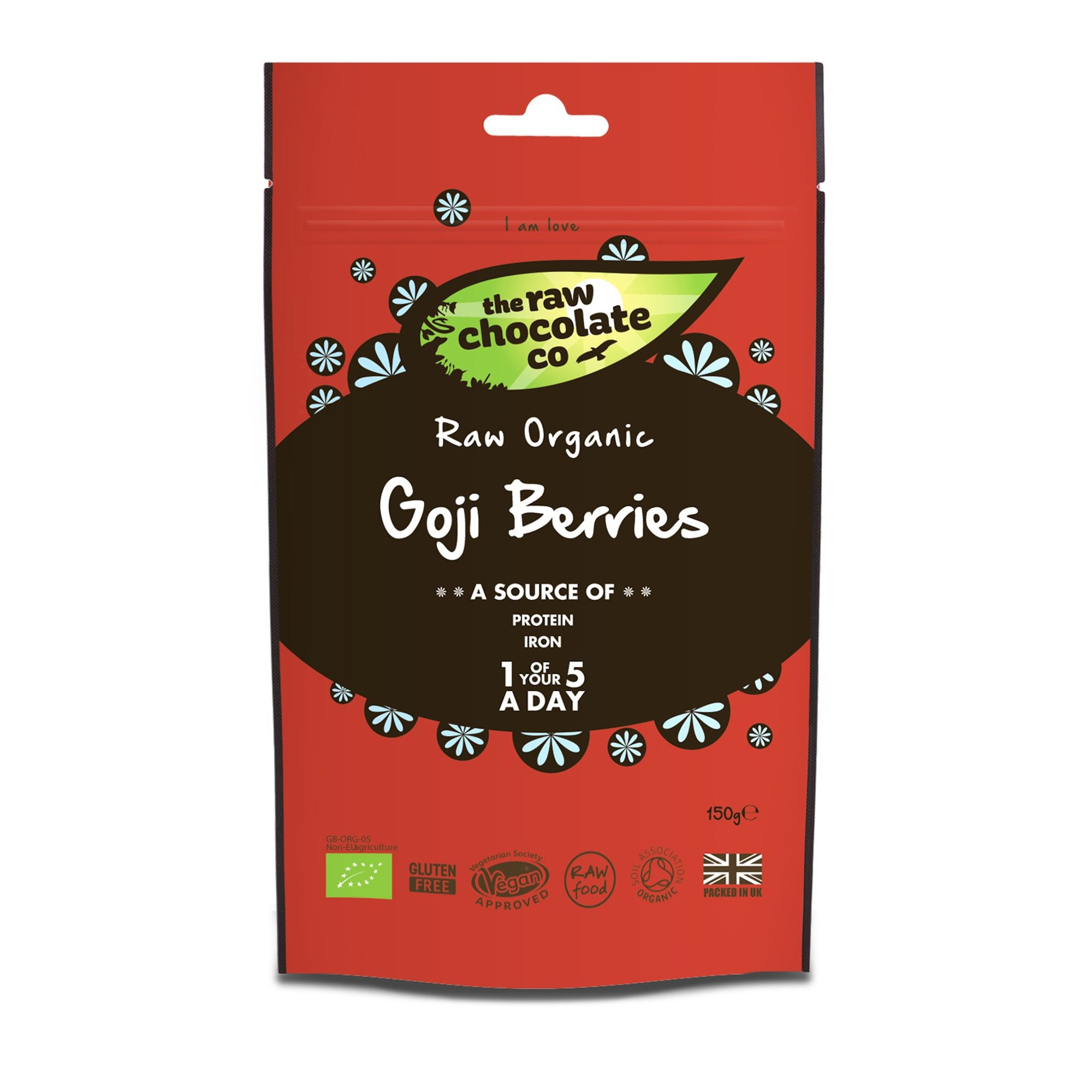 Raw Goji Berries - The Raw Chocolate Company