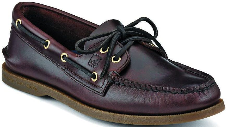 AUTHENTIC ORIGINAL LEATHER BOAT SHOE-Large