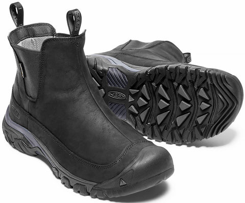 ANCHORAGE III PULL-ON WATERPROOF BOOT (imperméable)-Medium (Fait large) -                      Noir