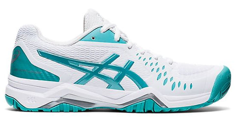 GEL-CHALLENGER 12 (tennis)-Medium -                      Blanc/Cyan