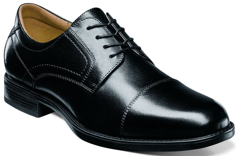 MIDTOWN CAP TOE OXFORD-Medium -                      Noir
