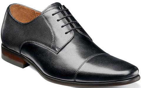 POSTINO CAP TOE OXFORD-Medium -                      Noir