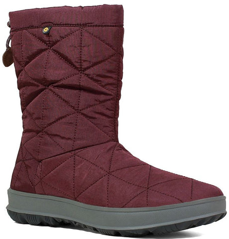 SNOWDAY MID (imperméable)-Medium -                Bordeaux