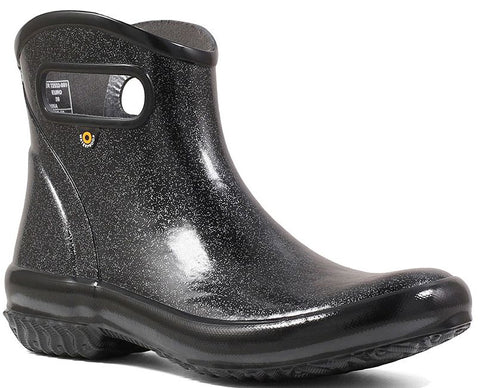 RAINBOOT ANKLE GLITTER (imperméable)-Medium -                      Noir