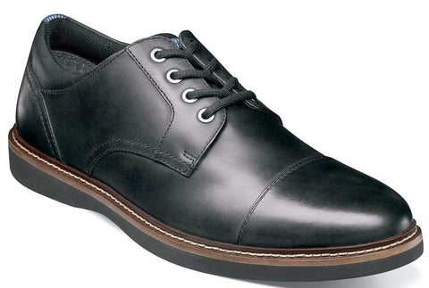 RIDGETOP CAP TOE OXFORD-Medium -                      Noir