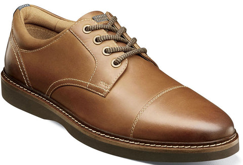 RIDGETOP CAP TOE OXFORD-Extra Large -                      Tan