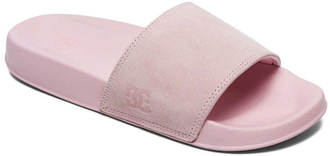 DC SLIDE SE SUEDE-Medium -                Rose
