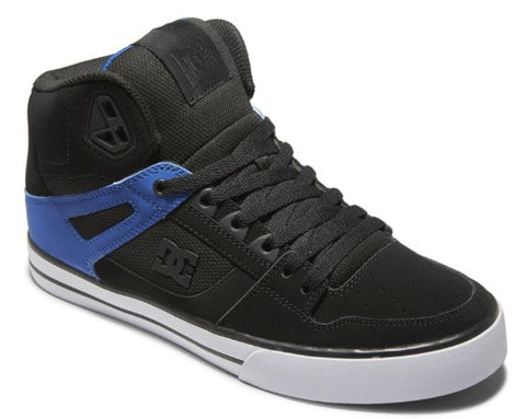 PURE SE HIGH TOP-Medium (Fait large) -                      Noir/Bleu