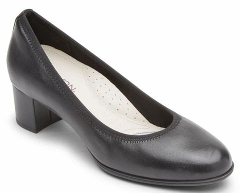 CAREER DRESS PUMP-Large -                      Noir