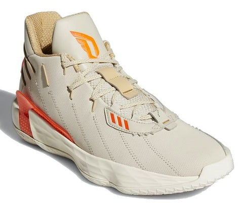 DAME 7 (basketball)-Medium -                      Beige/Orange