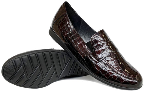 JAGPOUR-Medium -                      Croco bordeaux