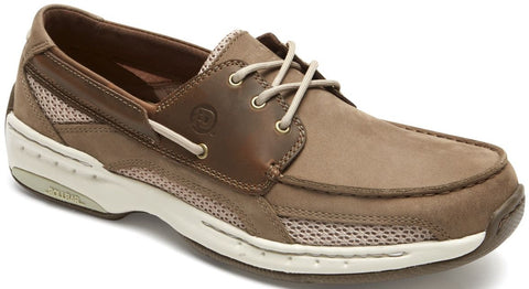 CAPTAIN BOAT SHOE-Medium -                Taupe