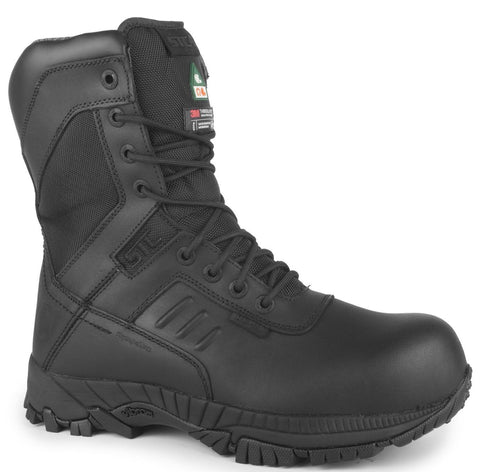 TACTIK 8'' WORK BOOTS IMPERMÉABLE (PROTECTEUR EN COMPOSITE) CSA-(Large)
