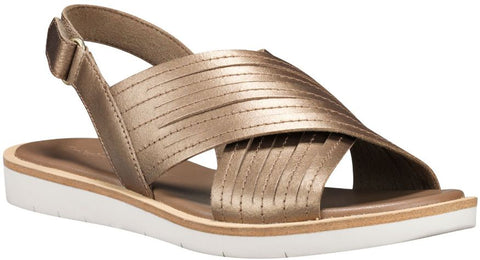ADLEY SHORE CROSS BAND SANDAL-Medium -                Or