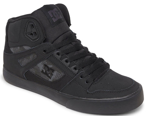 PURE SE HIGH TOP-Medium (Fait large) -                      Noir