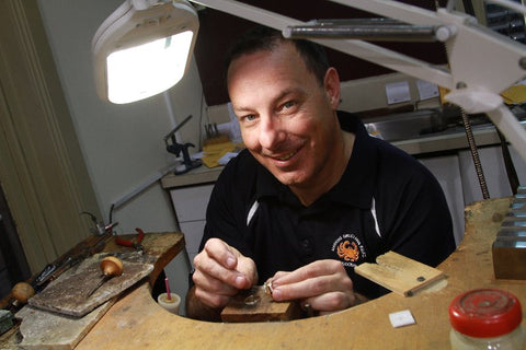 Chris Mylonas - Owner/Manufacturing Jeweller