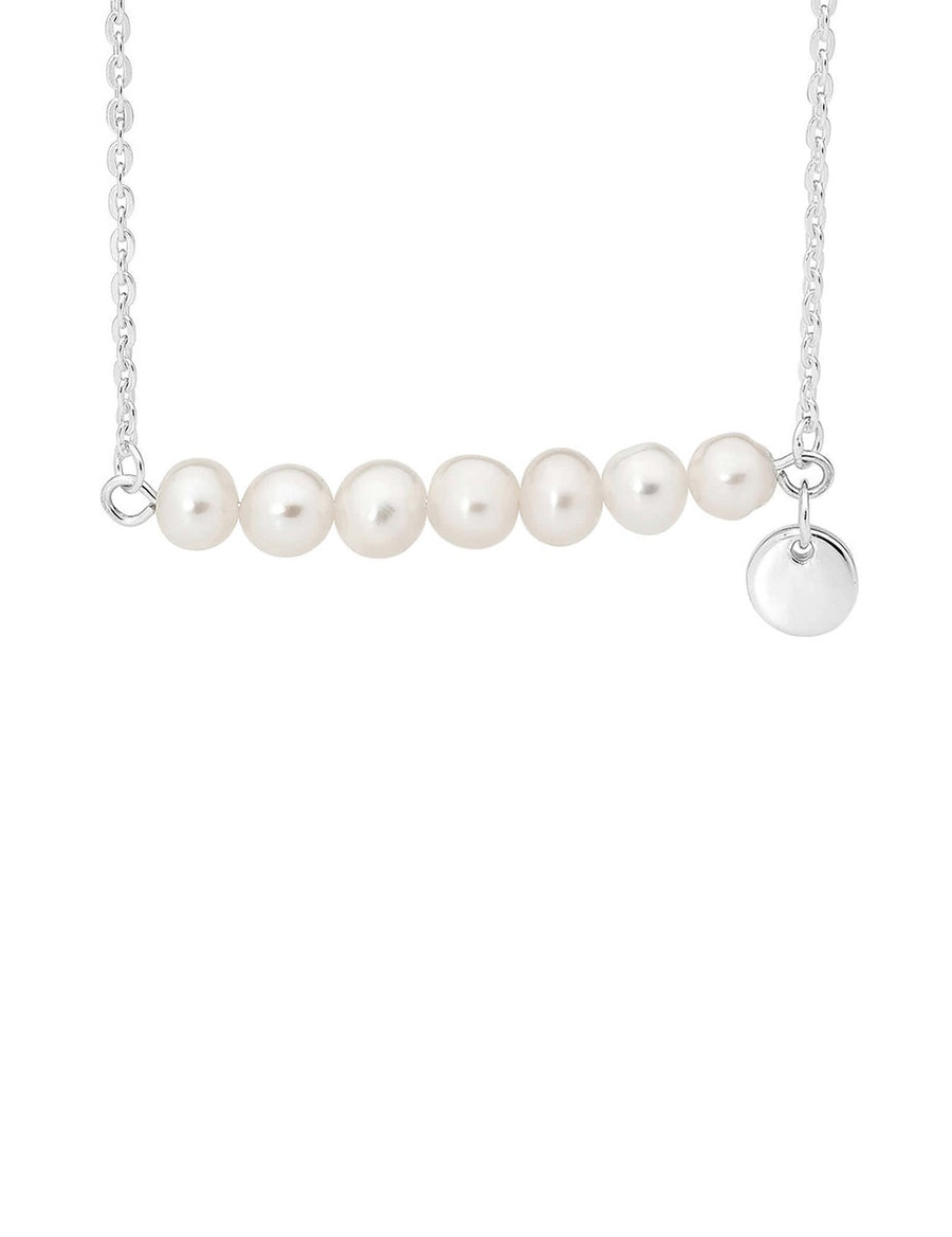 Wildest Dreams Necklace - Silver Necklace with Freshwater Pearls