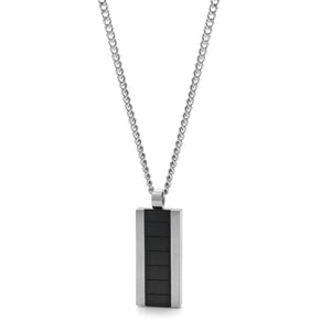 Stainless Steel Black Pendant