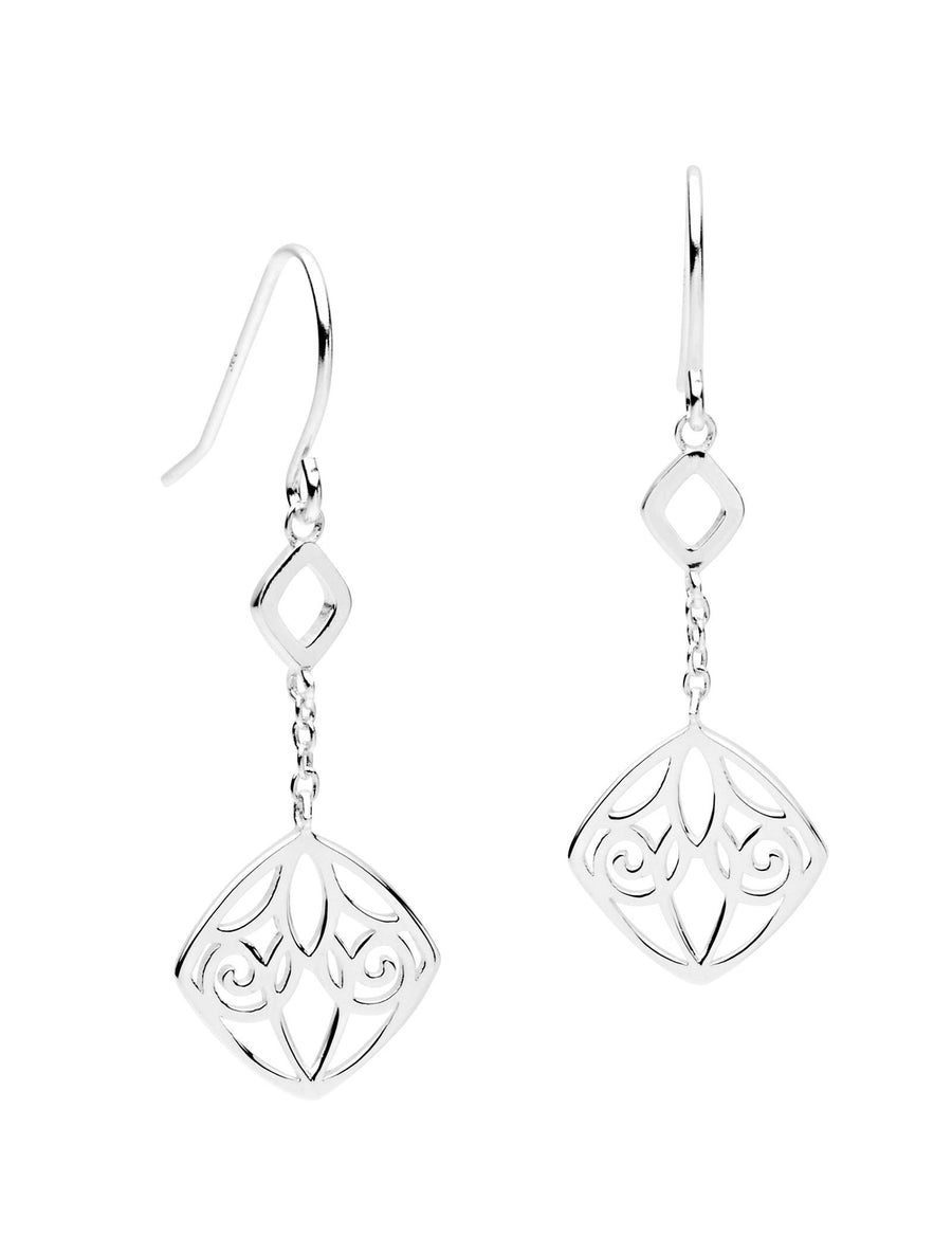 Bloom Earrings Sterling Silver