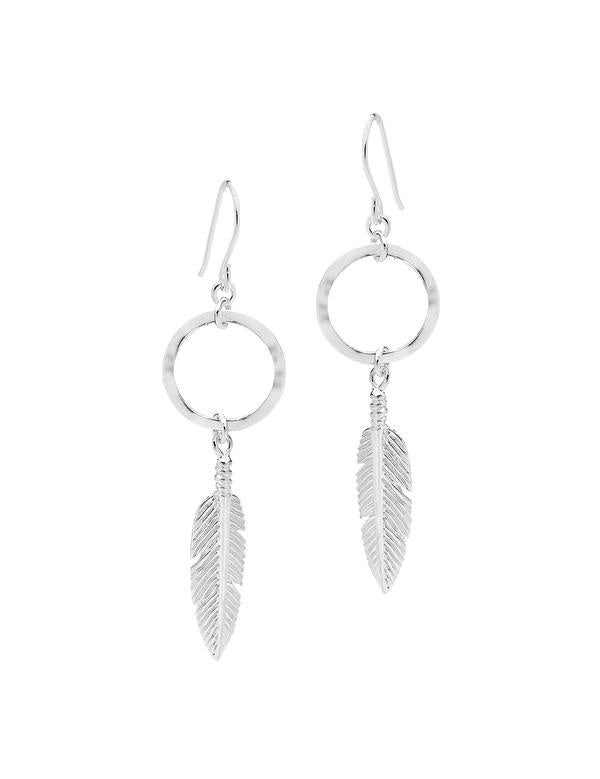 The Lucky One Earrings Sterling Silver