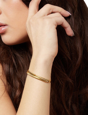 Palm Shadow Cuff