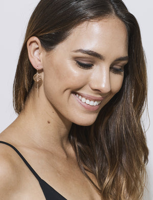 Sorrowed Sun Earrings