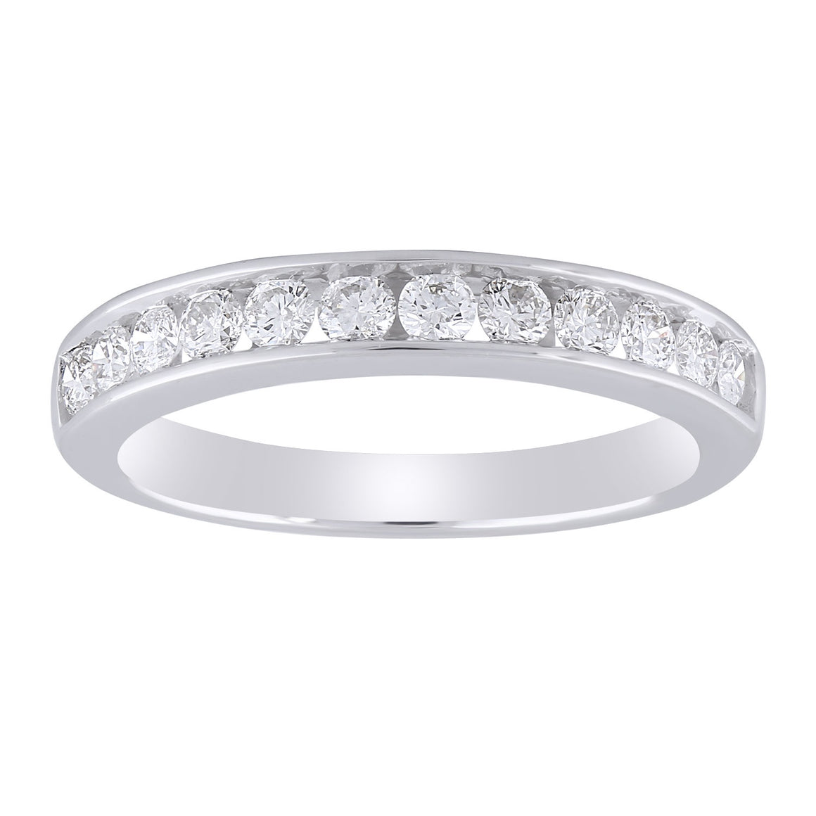 9ct White Gold Diamond Ring TDW 0.50ct