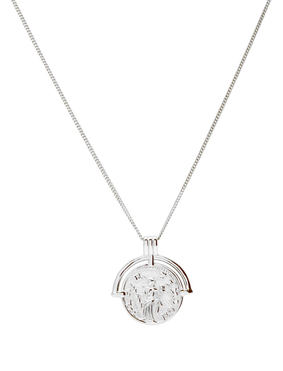 Berkley Rhodium Plated Sterling Silver Necklace