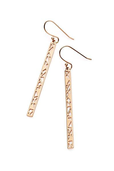 Maui Earrings Rose Gold