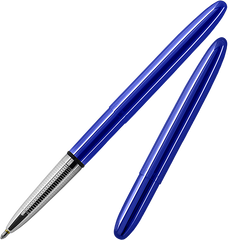 A400BB - Translucent Bullet Pen in Blueberry